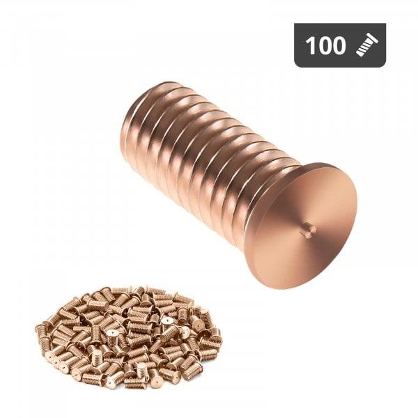 Perni a saldare - M5 - 12 mm - Acciaio - 100 pezzi