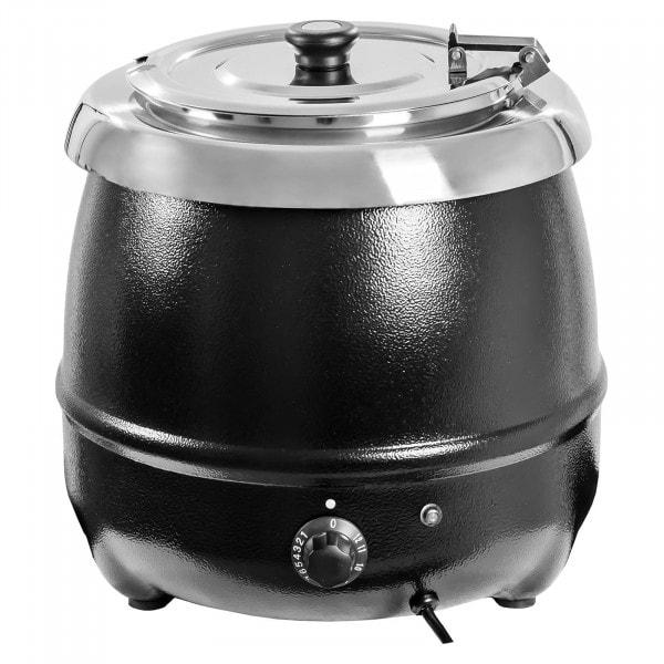 Gesamtansicht von Suppentopf - 10 Liter