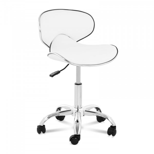 Stool Chair with Back PHYSA MUNICH WHITE