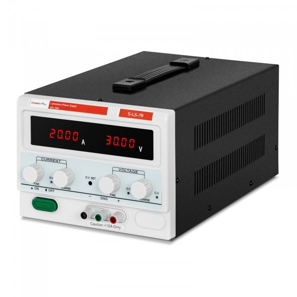 Laboratory Power Supply - 0-30 V - 0-20 A DC - 600 W