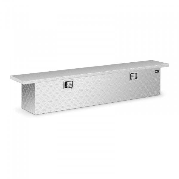 B-varer Aluminiumskasse 175 x 30 x 35 cm - 180 L - låsbar