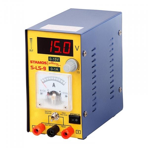 Power Supply 0-15 V , 0-1A DC