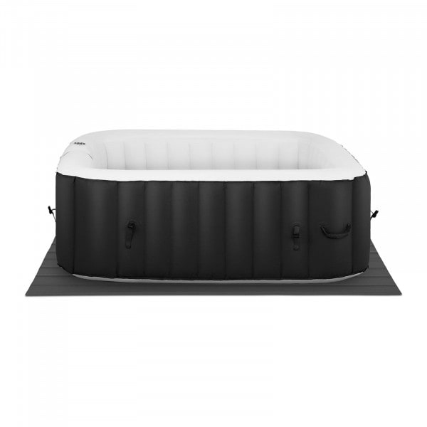 Factory second Inflatable Hot Tub - 900 L - 4 people - 130 jets - black/white