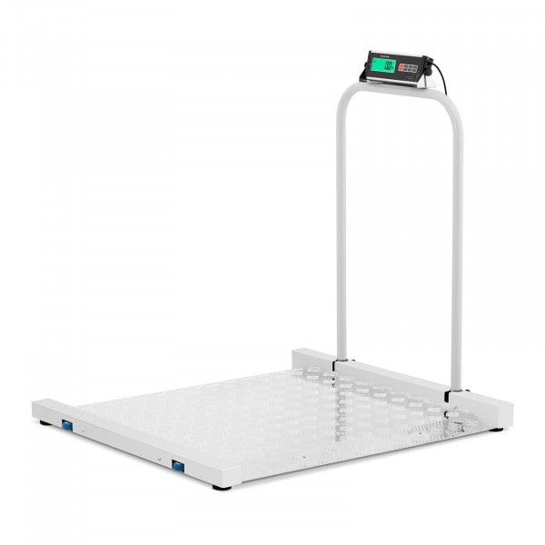 Bodenwaage - 300 kg / 100 g - 100 x 95 cm - LCD