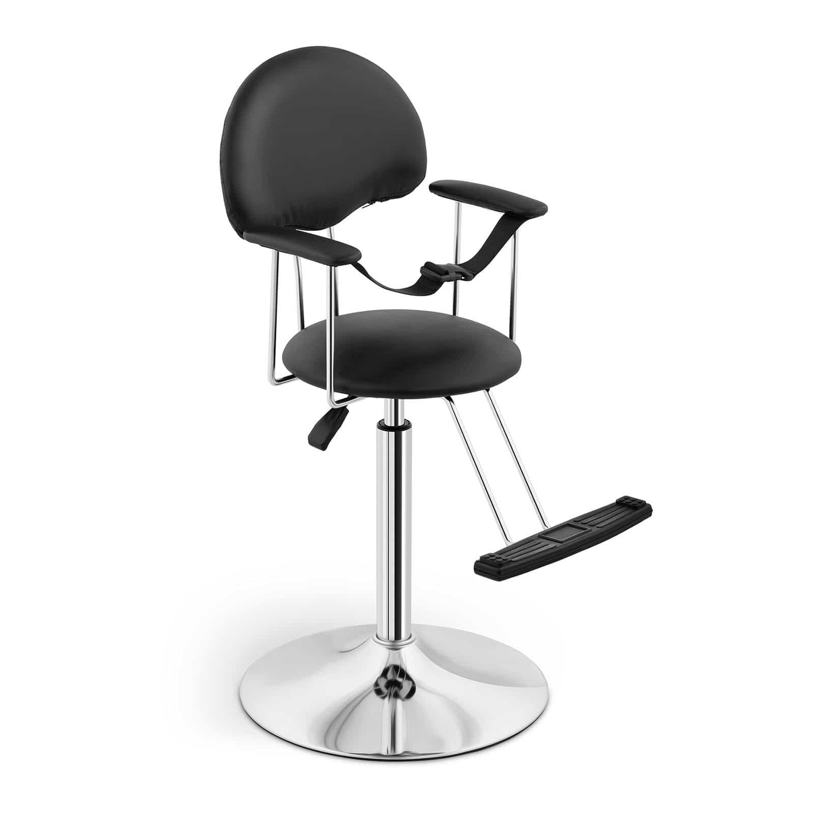 Fotel fryzjerski dla dzieci - czarny
