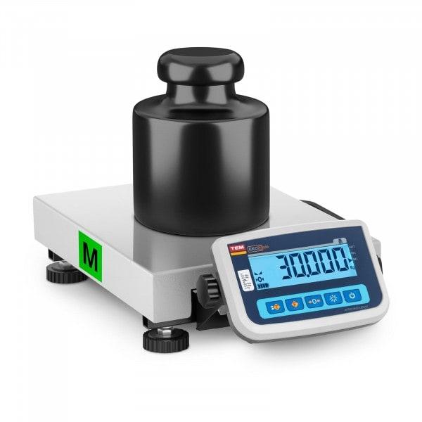Paketwaage - geeicht - 30 kg / 10 g