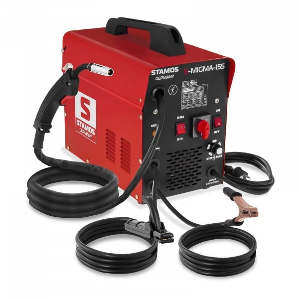 Combined Welder - 155 A - 230 V - with cart