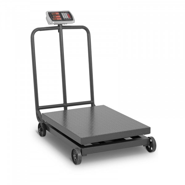B-Ware Plattformwaage - 1.000 kg / 200 g - rollbar - LED-Display