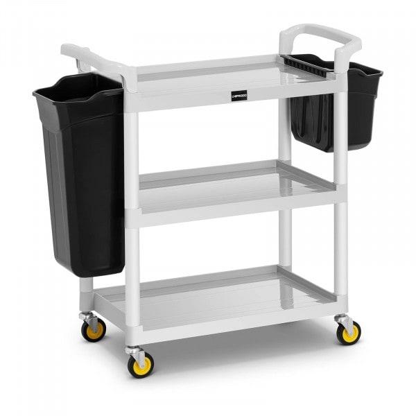 Servicewagen Hotel - 150 kg - 2 Behälter