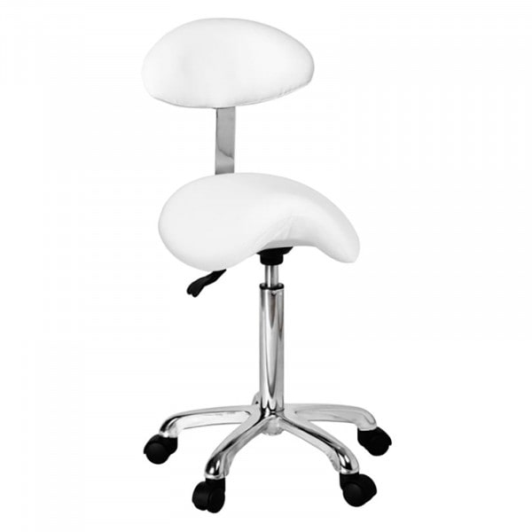Factory seconds RELAXY Saddle Chair | White