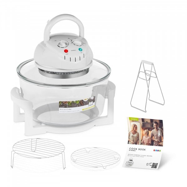 Factory seconds Halogen Oven Cooker with Extender Ring - 250 °C - 60 min