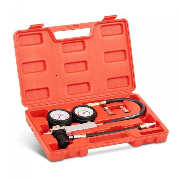 Kompressionstester - Doppelmanometer - 0-7 bar