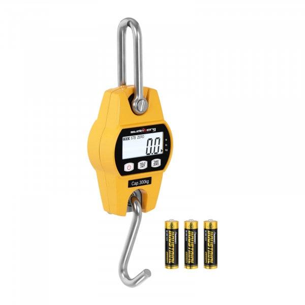 Crane Scale - 300 kg / 100 g - LCD - yellow