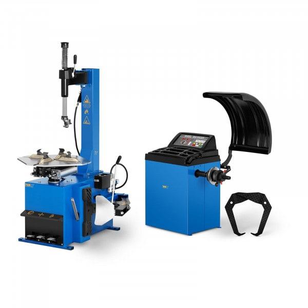 "Tyre Changer Machine and Wheel Balancing Machine Set - 750 W - 11 to 21"" - 4 to 7 s"