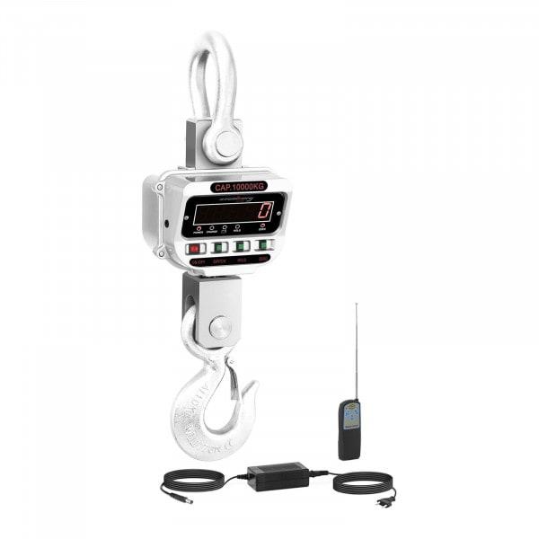 Balança digital de guindaste - 10 t / 2 kg - LED