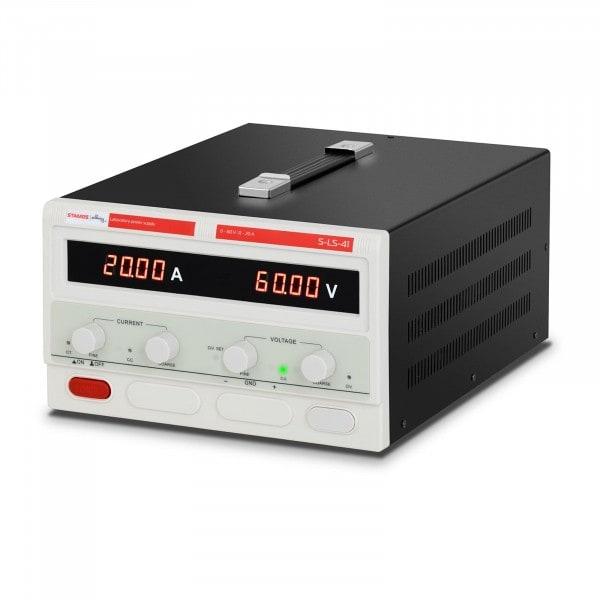 Zasilacz laboratoryjny - 0-60 V - 0-20 A DC