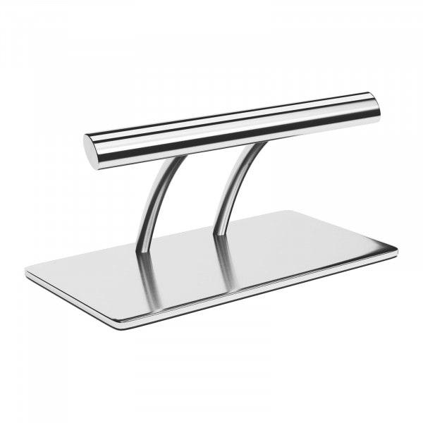 Artigos usados Pousa-pés - 35 cm - aço inoxidável - barra oval