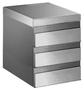 Schubladenblock für Arbeitstische - 400x530x550mm