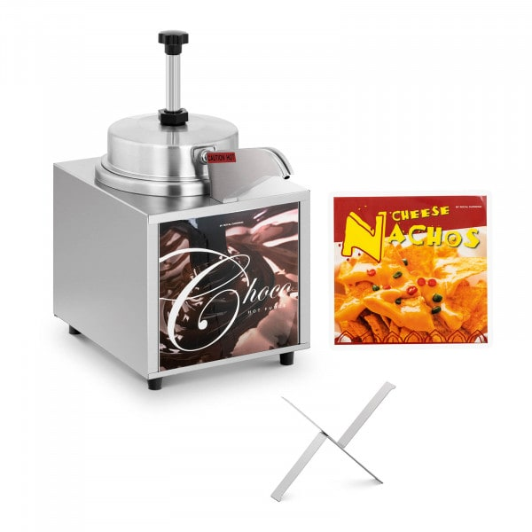 Sauce Dispenser - nacho cheese - chocolate - 4.5 L