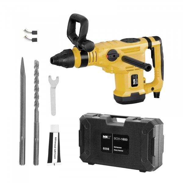 Rotary hammer- 1600 Watts - 350 rpm