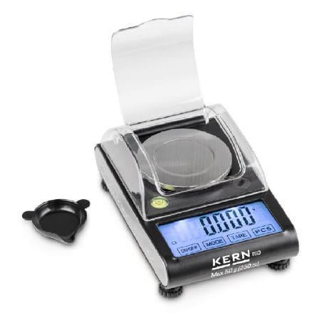 KERN Taschenwaage Max 50 g / 1 mg