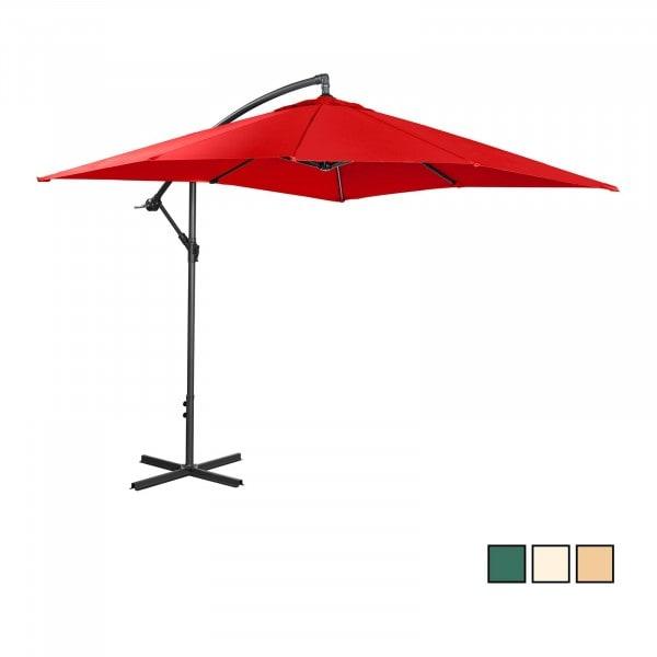 B-varer Hengeparasoll - Rød - 250 x 250 cm - Stål