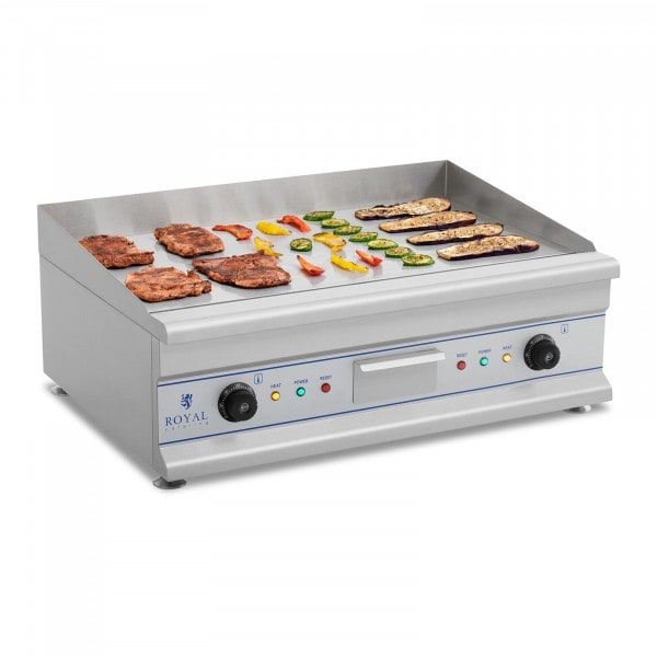 Electric Griddle - 72.5 cm - smooth - 2 x 3200 W