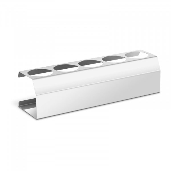 Porta molhos - 5 bisnagas - aço inoxidável