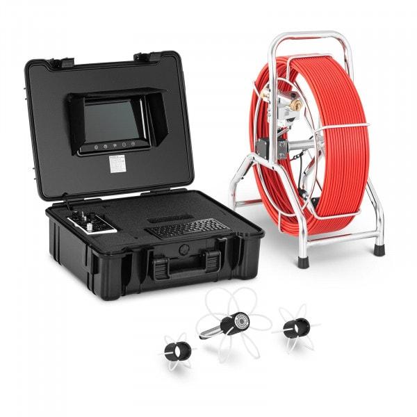 "Endoscope Camera - 60 m - 42 LEDs - 9"" display"
