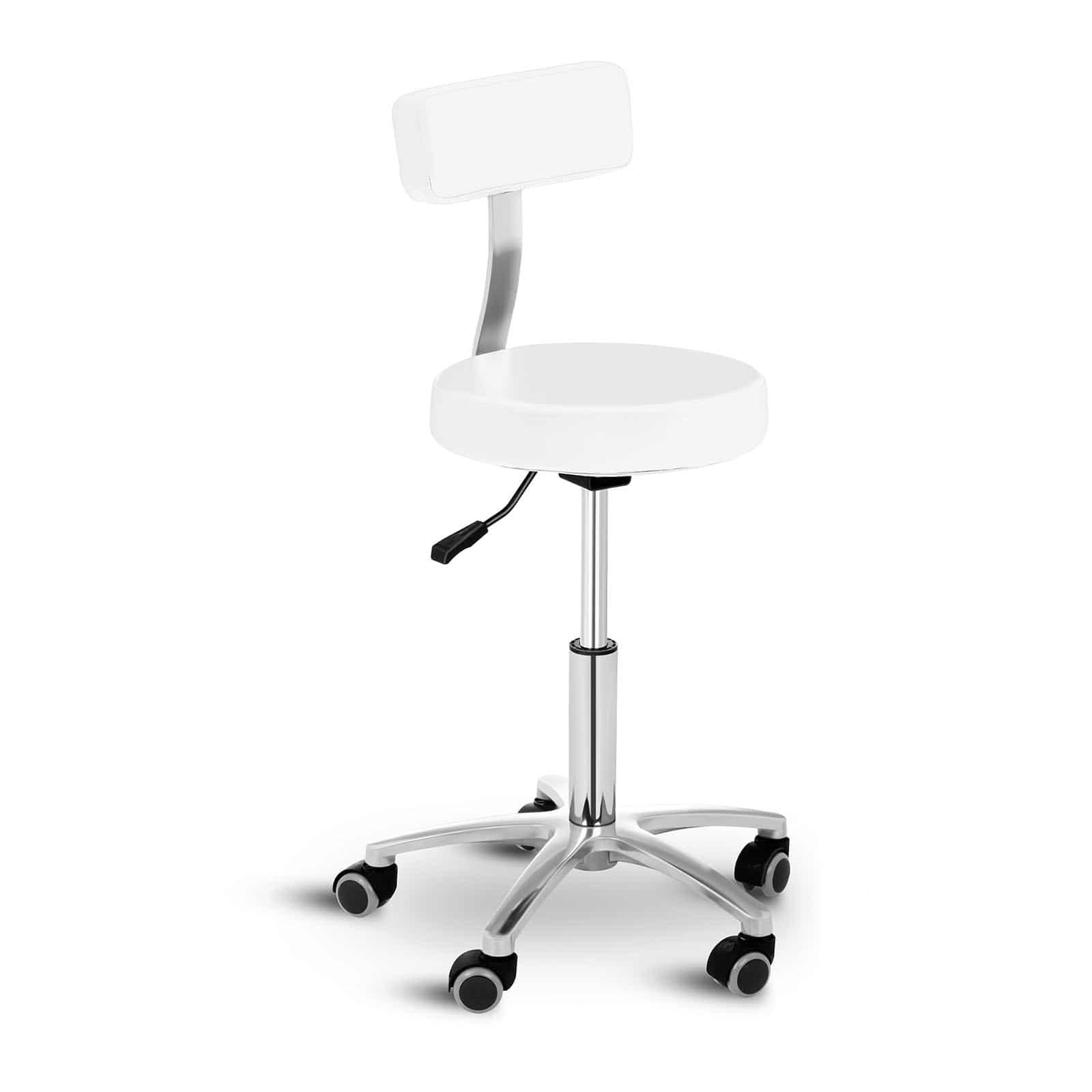 Krzesło kosmetyczne Physa Terni białe
