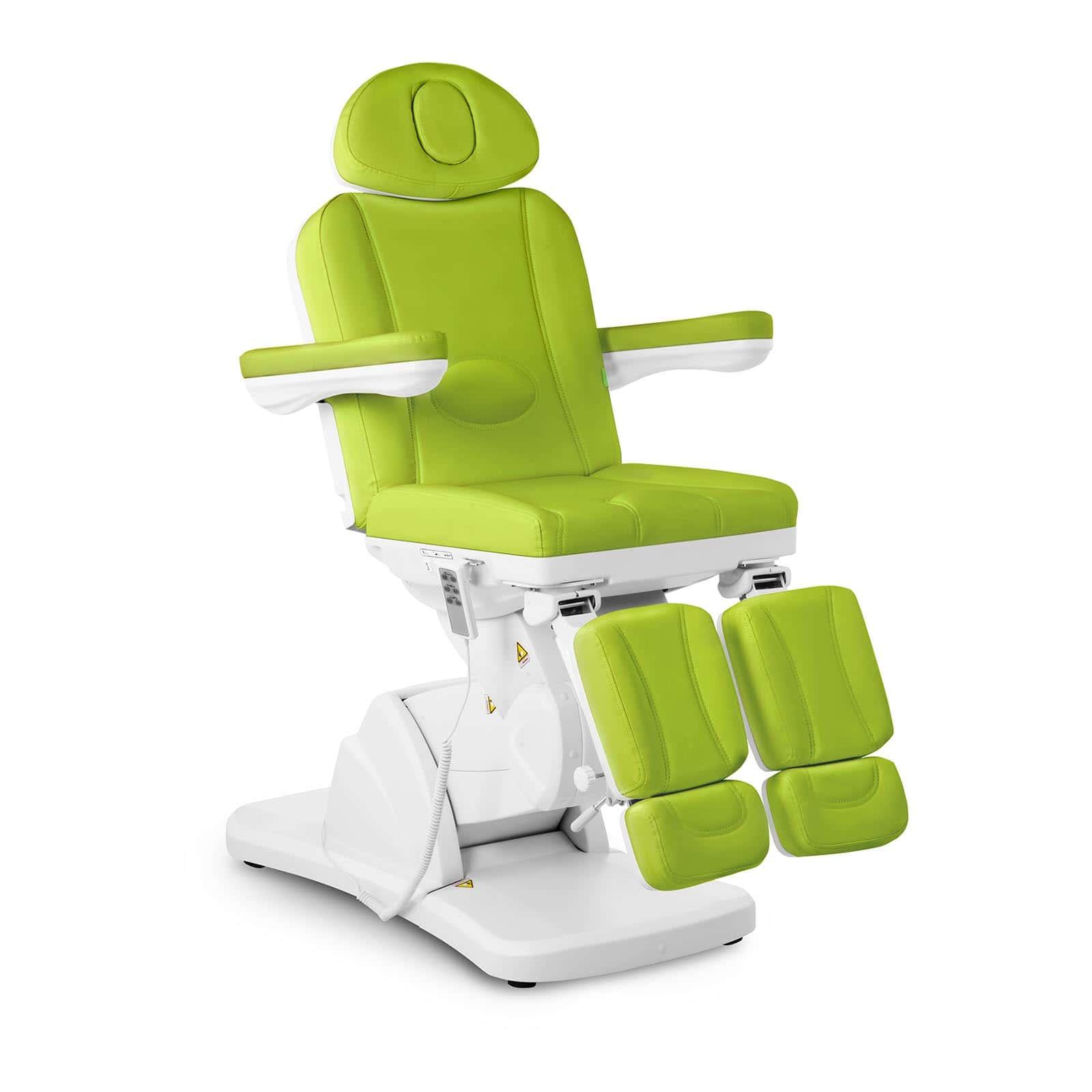 Zielony fotel kosmetyczny do pedicure La Paz