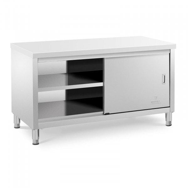 Stół roboczy z szafką - 150 x 70 cm - 600 kg
