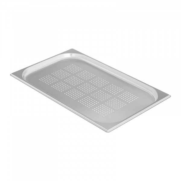 Gastronorm Tray - 1/1 - 20 mm - Perforated