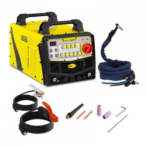 Factory second Aluminium Welding Machine - 333 A - 400 V - pulse - 2-/4-touch - SELECTION