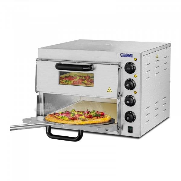 Pizza oven - 2 baking chambers - fireclay bottom