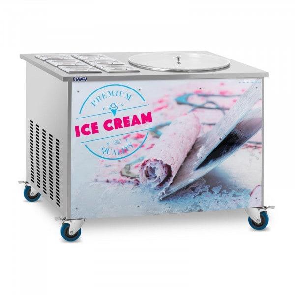 Roll-Eismaschine - Ø 50 cm - 6 Behälter mit Deckel