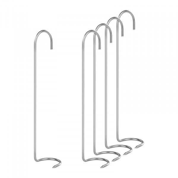 Rookhaken-set van 5 - klauwhaak