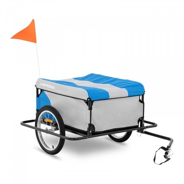 Brugt Cykeltrailer til bagage - 50 kg - støddæmpere på siderne - reflekser i egerne
