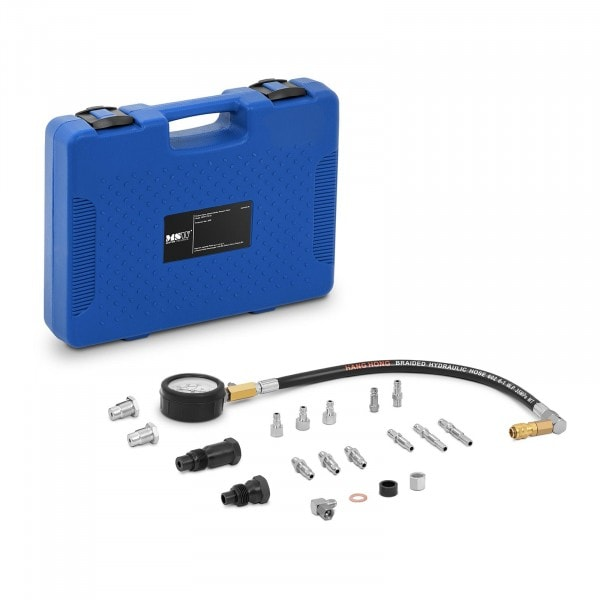 Occasion Compressiomètre diesel - 0 - 70 bars - Manomètre 70 mm - Tuyau 45 cm
