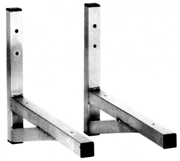 Systemkonsole für Schwerlasten - 500x500x40 mm