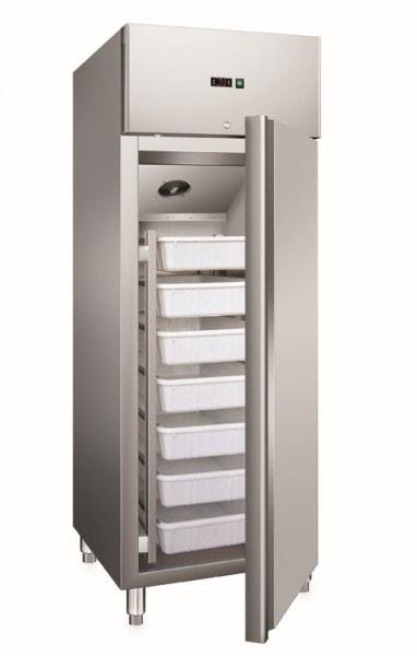 Fischkühlschrank - 680x810x2000 mm - 537 L / 376 L - -2°C/+8°C - Umluftkühlung - 300 W - 230 V - Gew