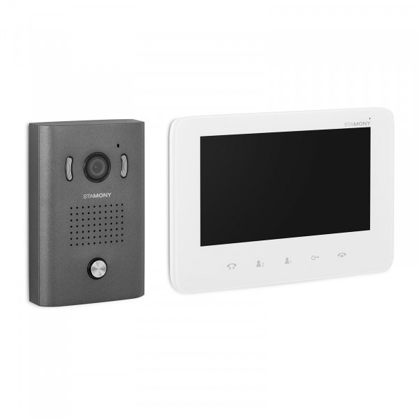B-termék Videó kaputelefon - 1 monitor - kijelző 17,8 cm