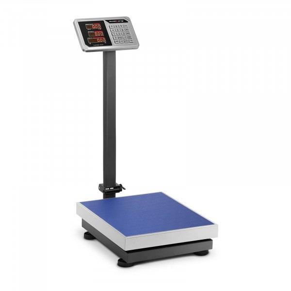 Waga platformowa - 150 kg / 20 g - LED