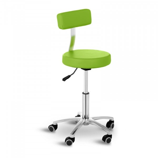 Stool Chair with Back TERNI GREEN