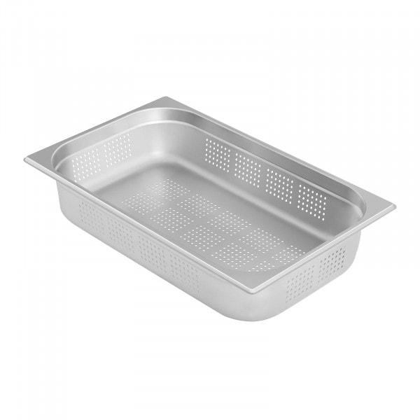 Gastronorm Tray - 1/1 - 100 mm - Perforated
