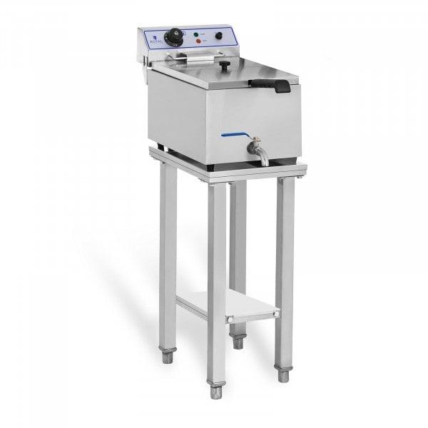 Elektro-Fritteuse - 1 x 17 Liter - mit Untergestell