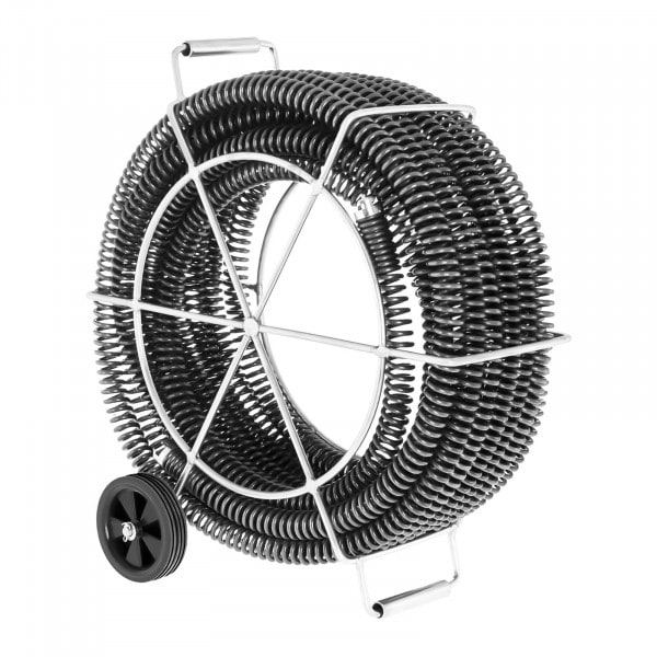 Pijpreinigingsspiralen set 4 x 4,65 m / Ø 32 mm