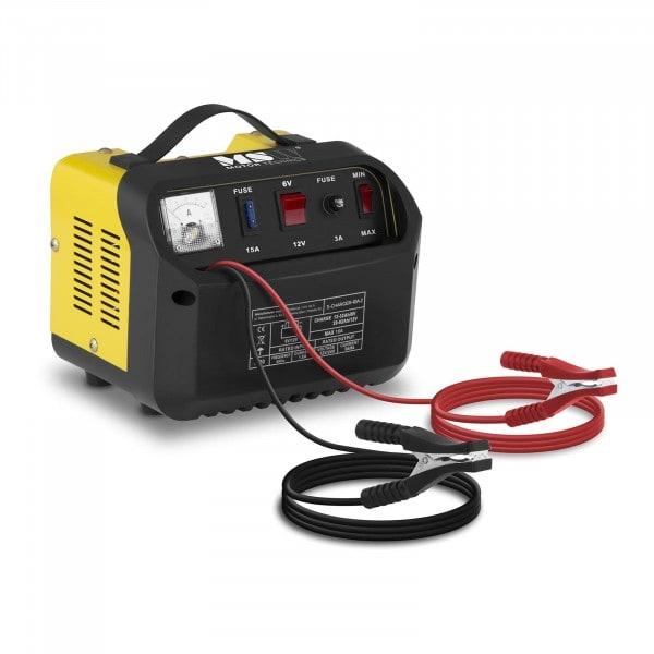 Autobatterie-Ladegerät - 6/12 V - 5/8 A - schräges Bedienfeld