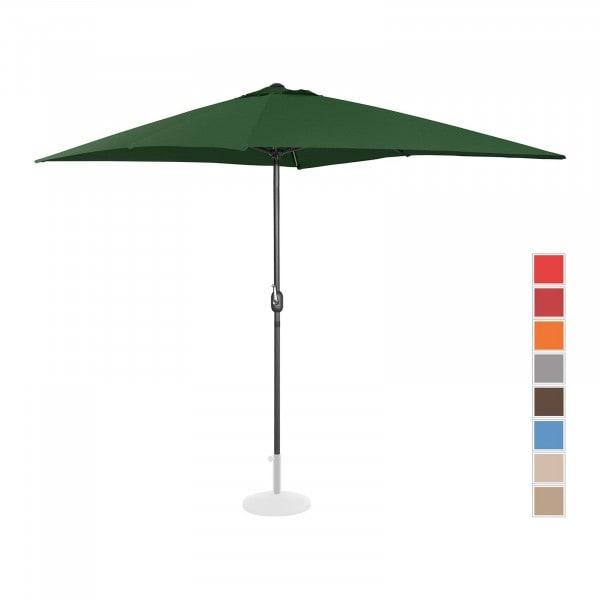 B-Ware Sonnenschirm groß - grün - rechteckig - 200 x 300 cm