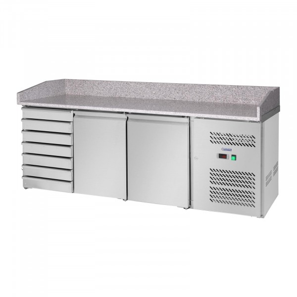 Cooling Table - 580 L - Granite Counter - 2 Doors